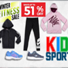 Winter Fitness and Sport Clothing Sale for Kids - Up to 51% Off