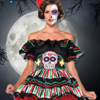 Day of the Dead Costumes and Accessories Starting $3.99
