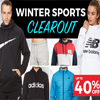 Winter Sportswear Collection - Up to 40% Off
