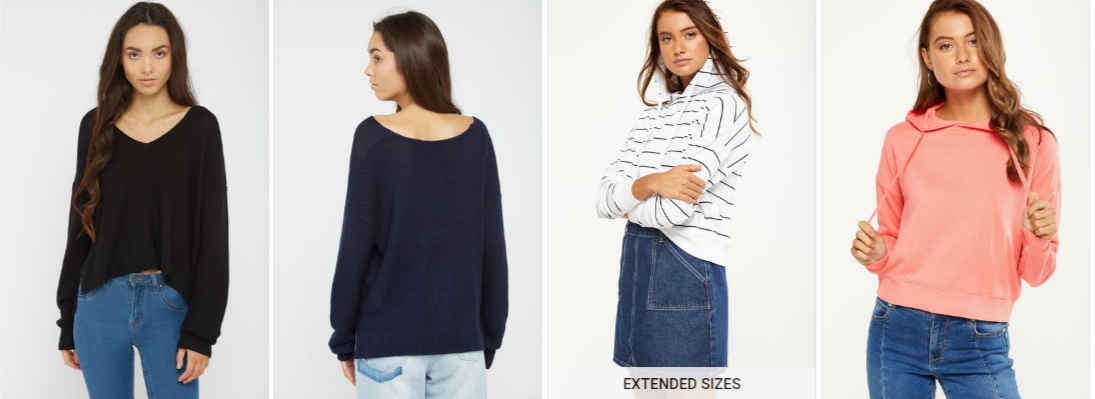 Women Autumn Knitwear Collection - Up to 60% Off