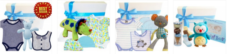 Baby Boy Gift Boxes for Christmas Day - Up to 23% Off