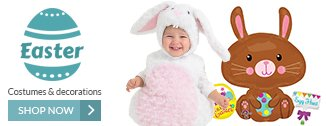 Easter Costumes and Accessories Start as low as $3.95