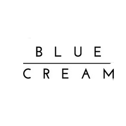 Blue and Cream